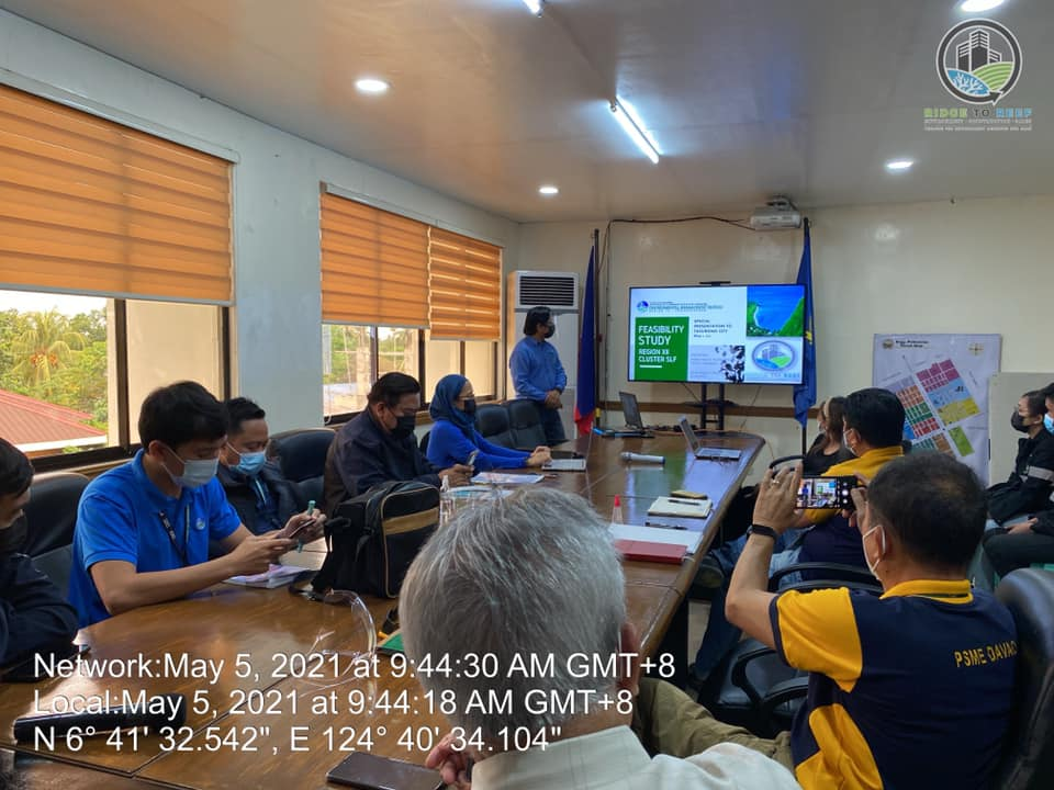 Presentation of the conducted FS for Cluster SLF for the City of Tacurong