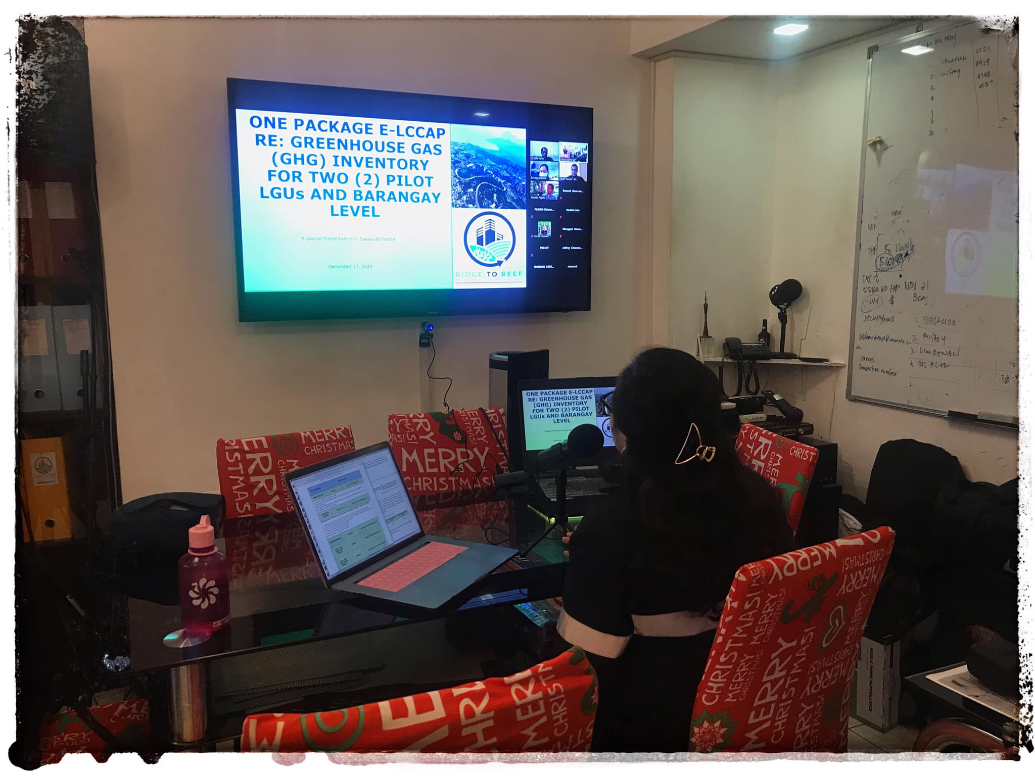 Finalization of the Greenhouse Gas Inventory at the Municipality of Carmen, Province of Davao del Norte
