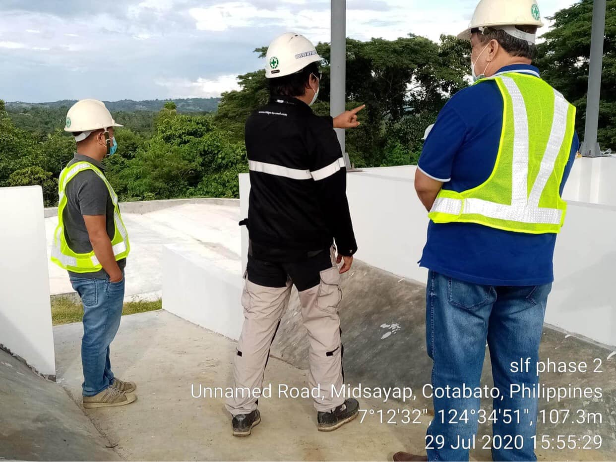 Site Visit at the On-going SWM Complex Construction at the Municipality of Midsayap