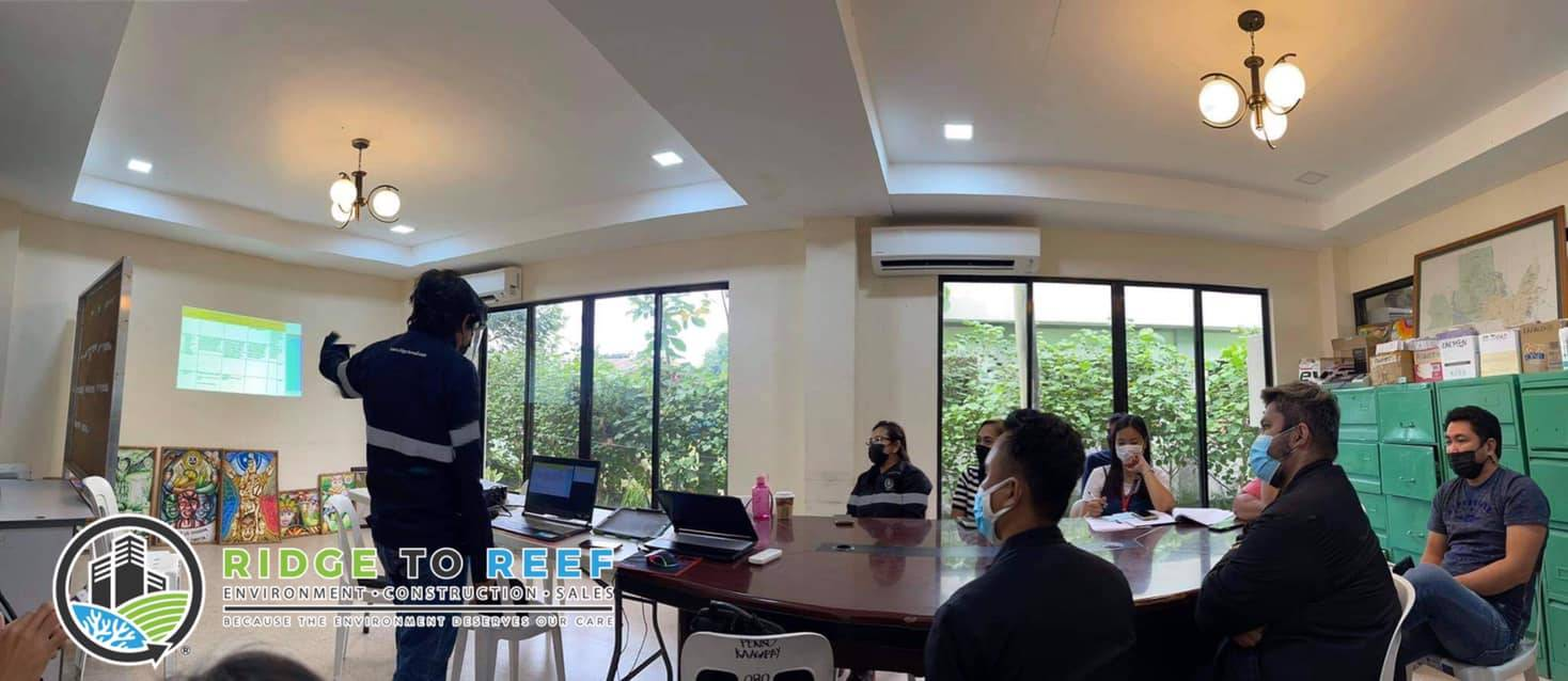 The Exit Conference with Provincial ENRO representatives, the proposed Davao del Norte Sanitary Landfill Cluster Project to be located at the Municipality of Sto. Tomas, Davao del Norte.