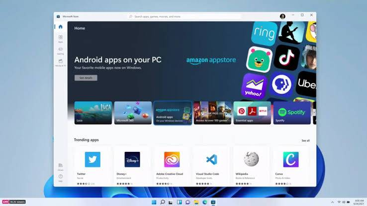 Windows 11 and Android apps: What's new in Windows???