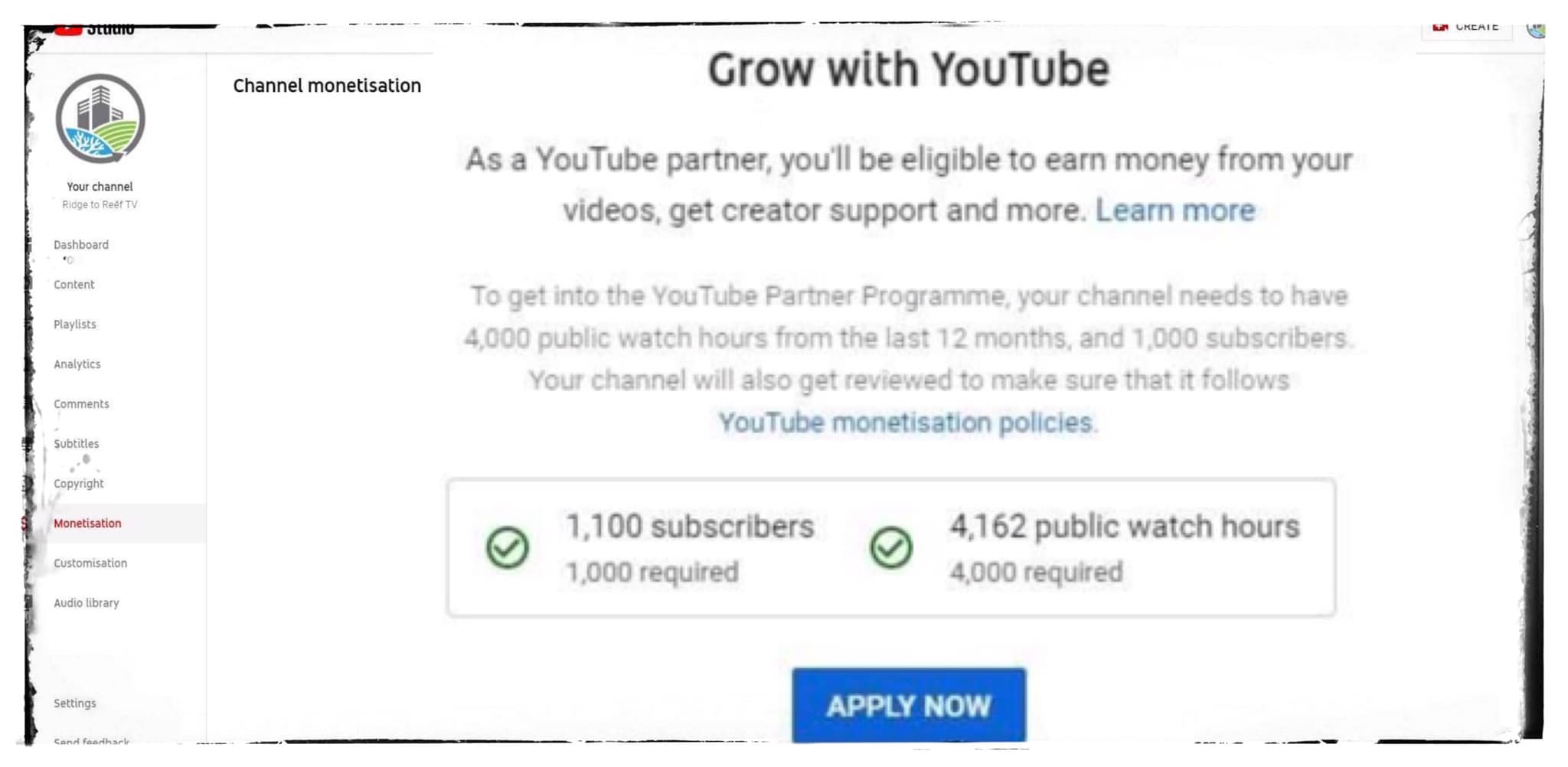 R2R Growing with You Tube