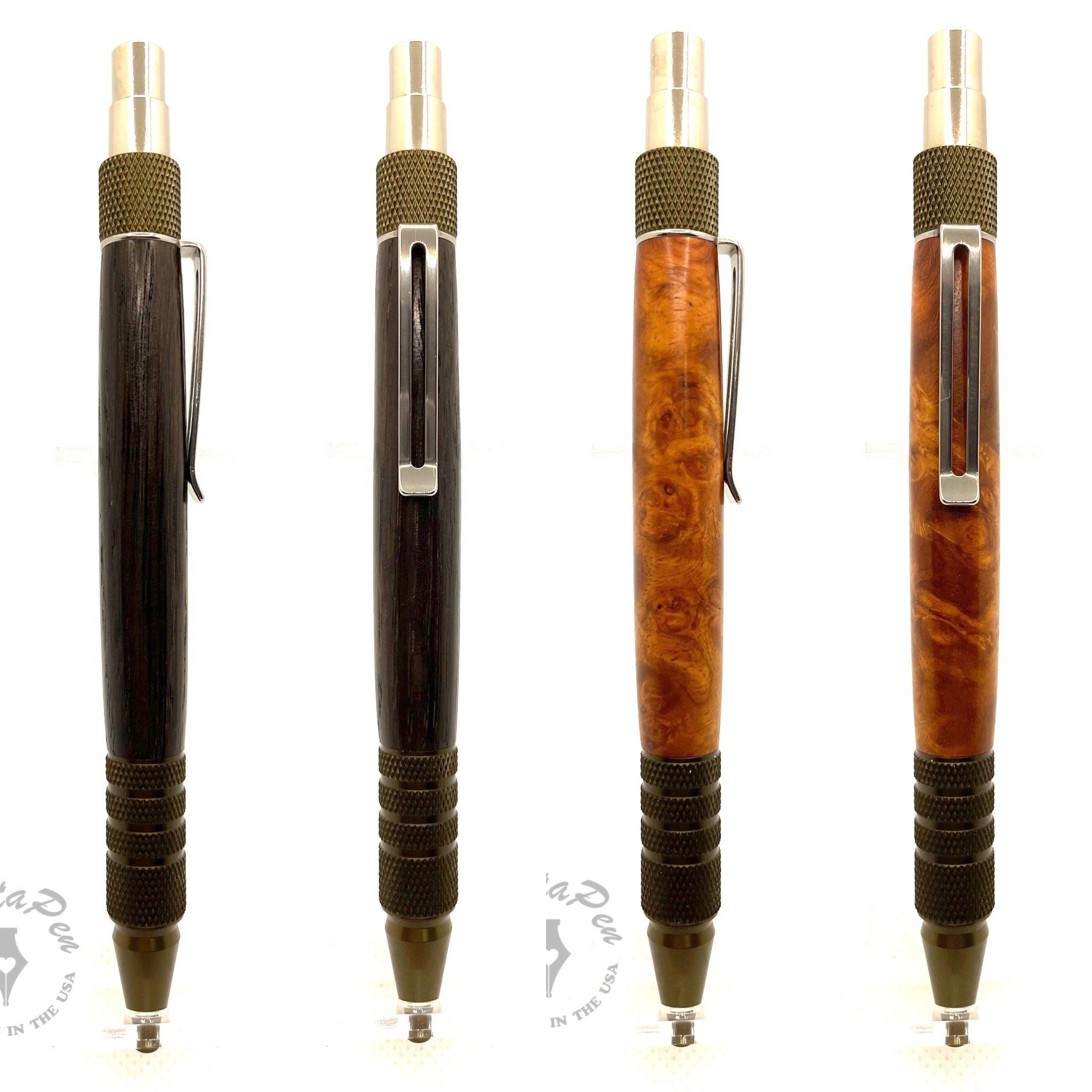 A couple EDC click pens created today that are available