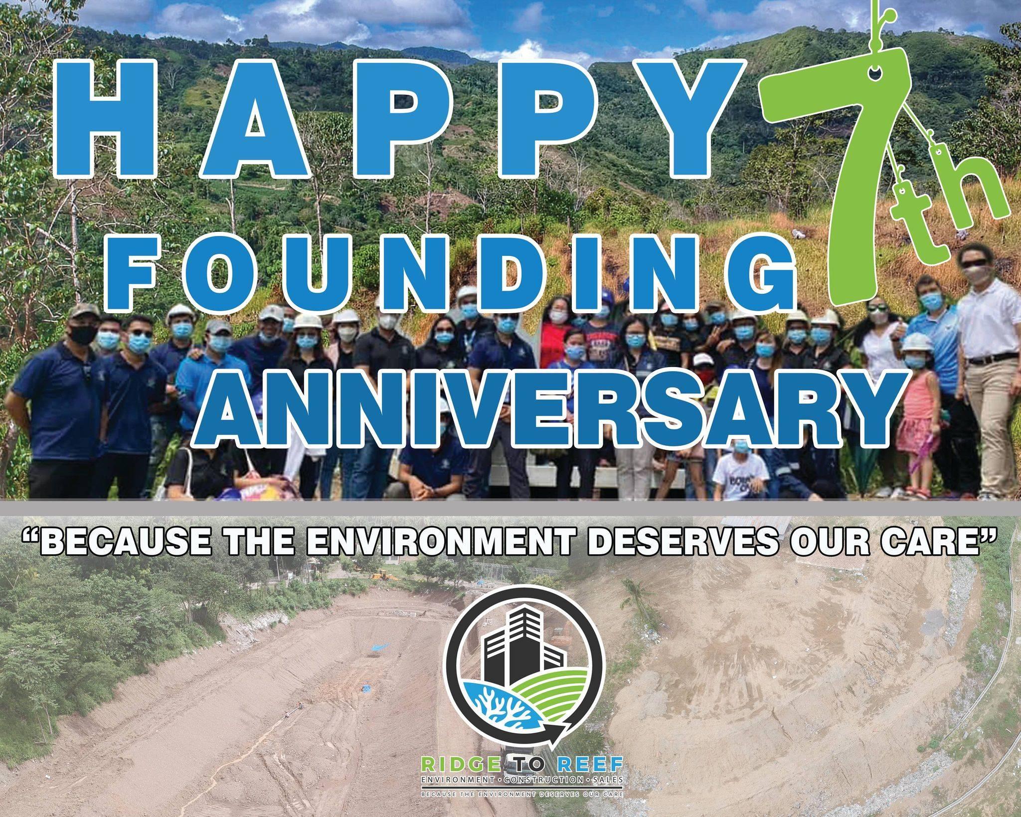 Happy 7th Anniversary Ridge to Reef!
