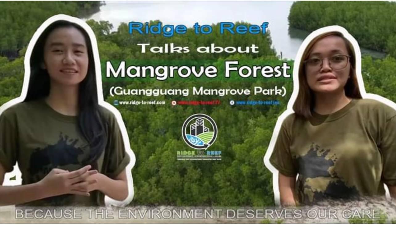Ridge to Reef Design Team visited Guangguang Mangrove Park