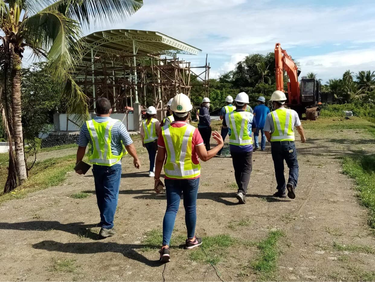 Municipality of Pigcawayan visited on of R2R Construction's project for its Post-Qualification