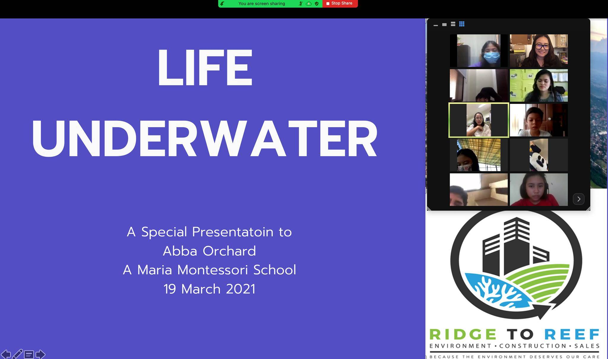 A special presentation of Life Underwater
