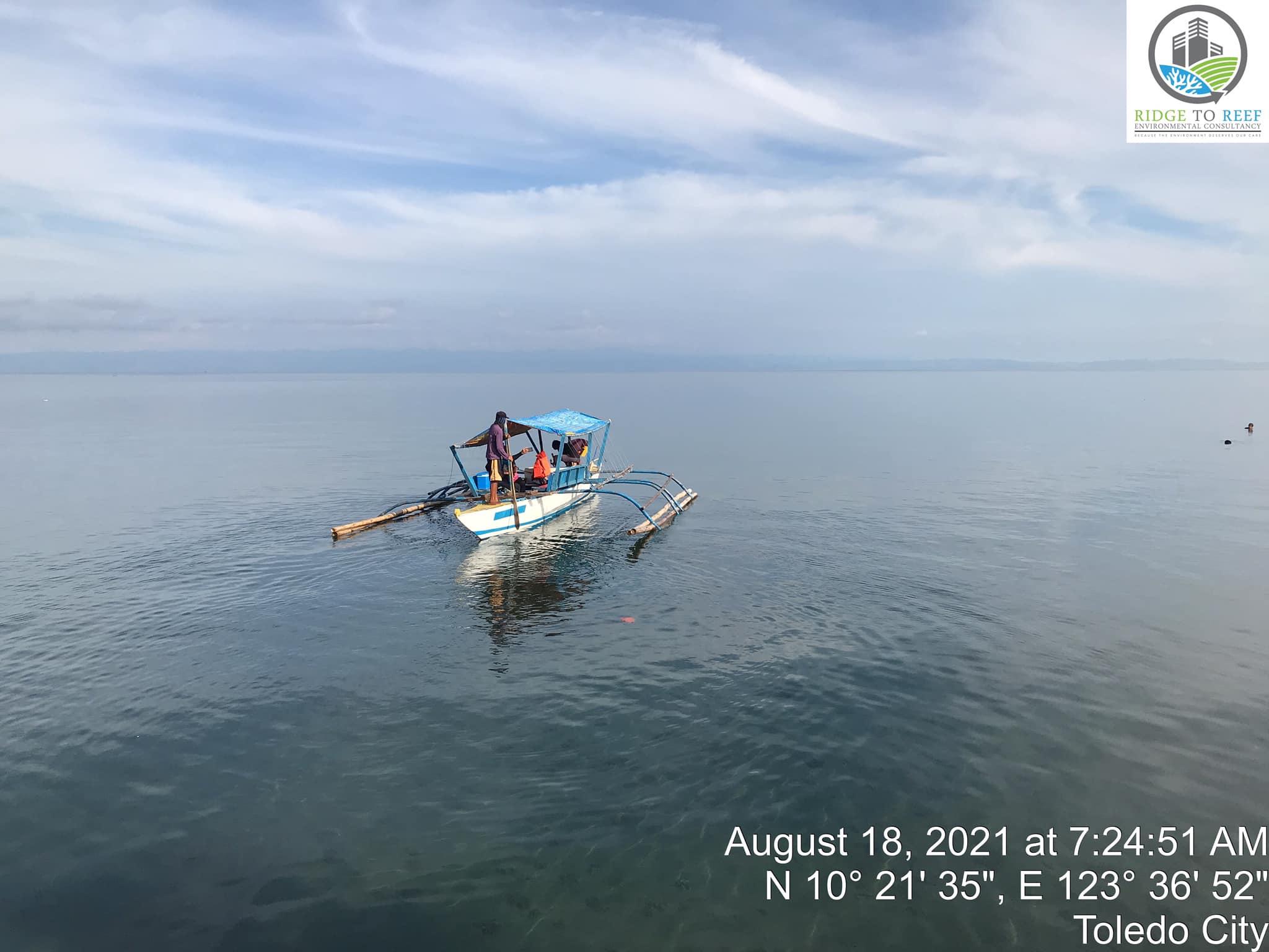 R2R's Team conducts Marine Biodiversity Assessment at Tañon Strait.