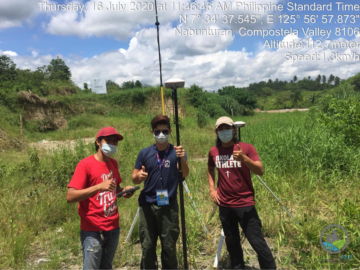 R2R Survey Team at the Municipality of Nabunturan, Province of Davao de Oro