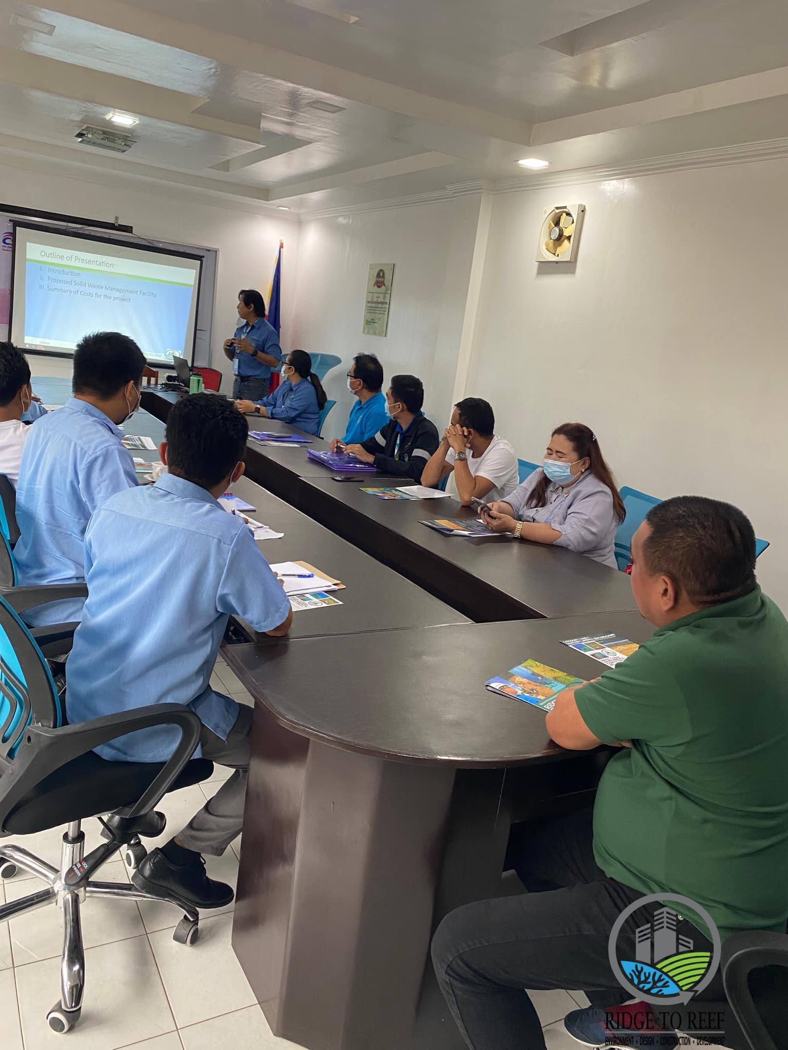 Ridge to Reef's Special Presentation at the Municipality of Malapatan for a Proposed Sanitary Landfill Facility Project