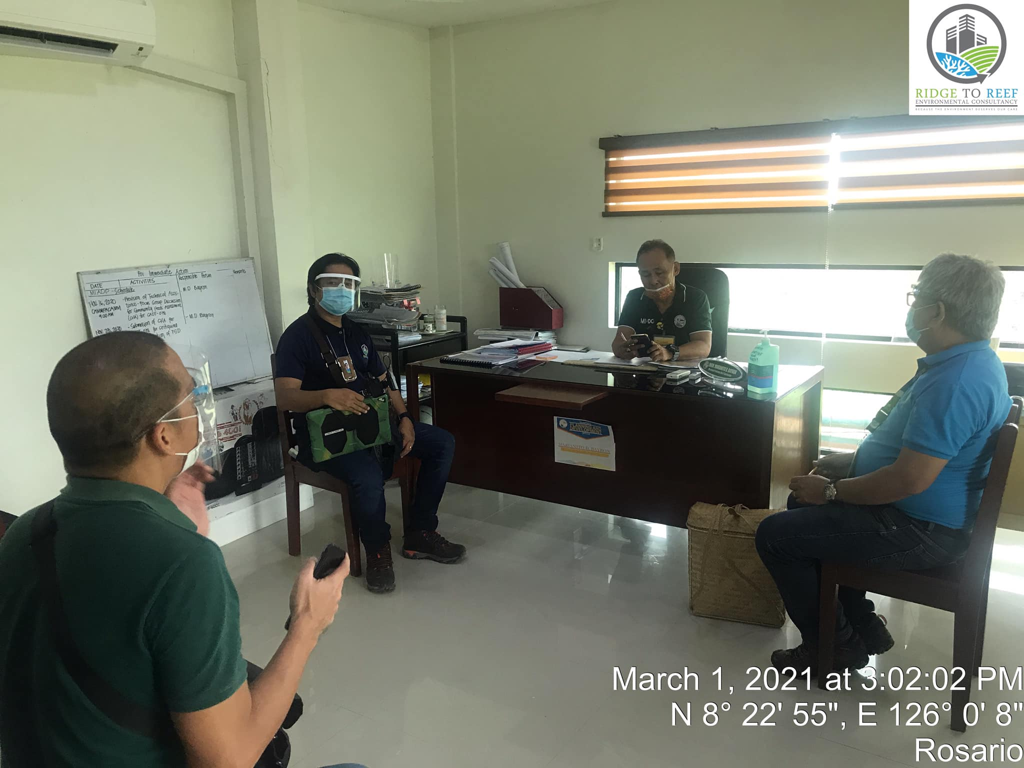 R2R Visited the  PASU Office of Agusan Marsh Wildlife Sanctuary (AMWS) and courtesy call at LGU Rosario