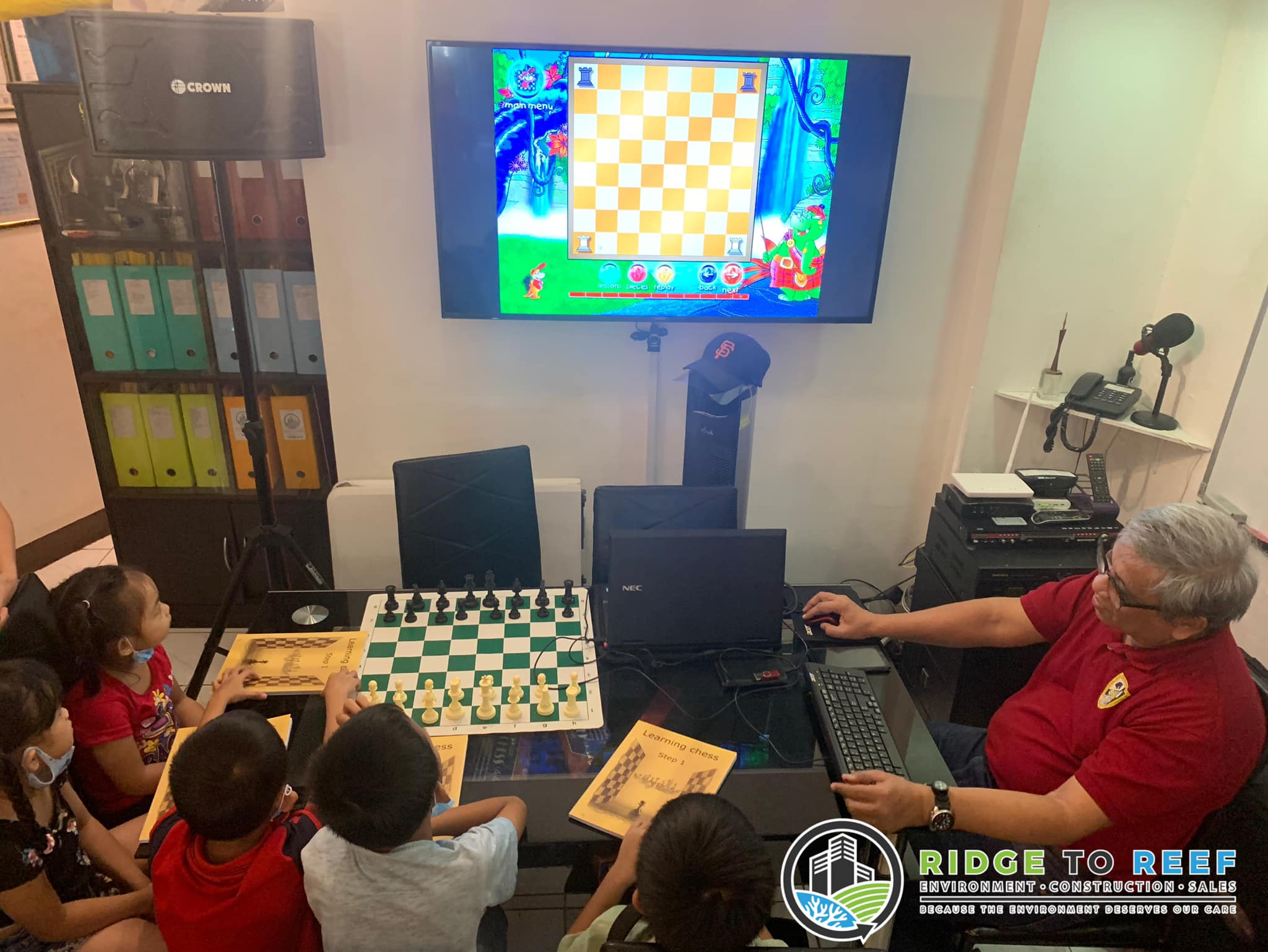 Saturday is Chess Day for R2R Kids!