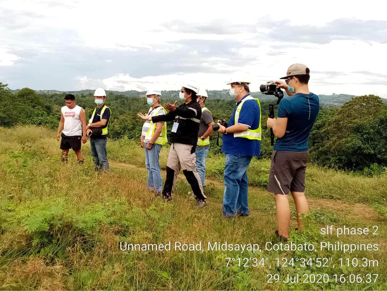 EMB XII Visited R2R's On-going Sanitary Landfill Facility Construction at the Municipality of Midsayap