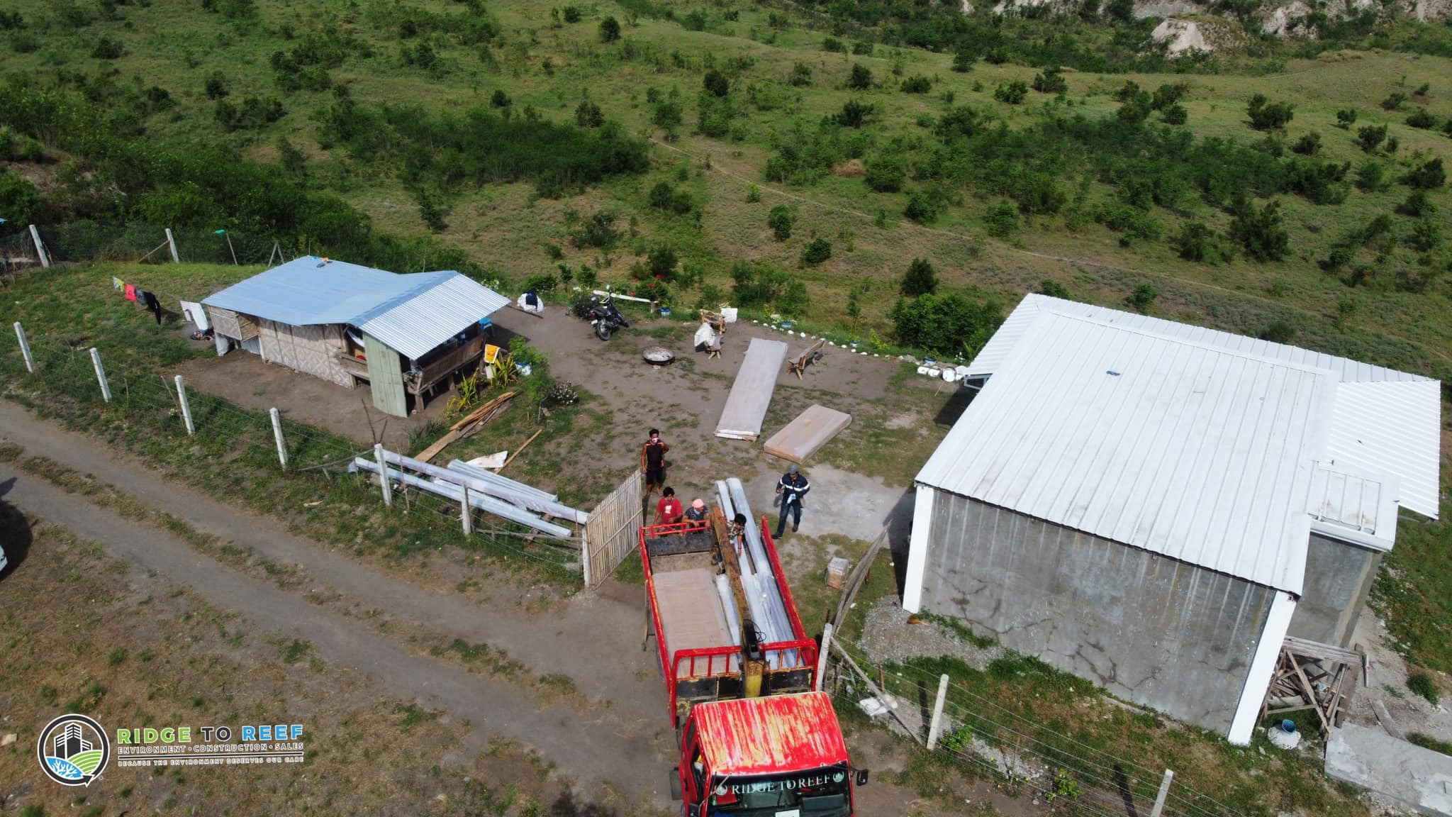 Installation of pre-fabricated houses in General Santos City for a proposed development project of the R2R Group