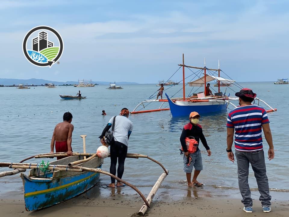 R2R Marine Biodiversity Team at Sarangani Bay