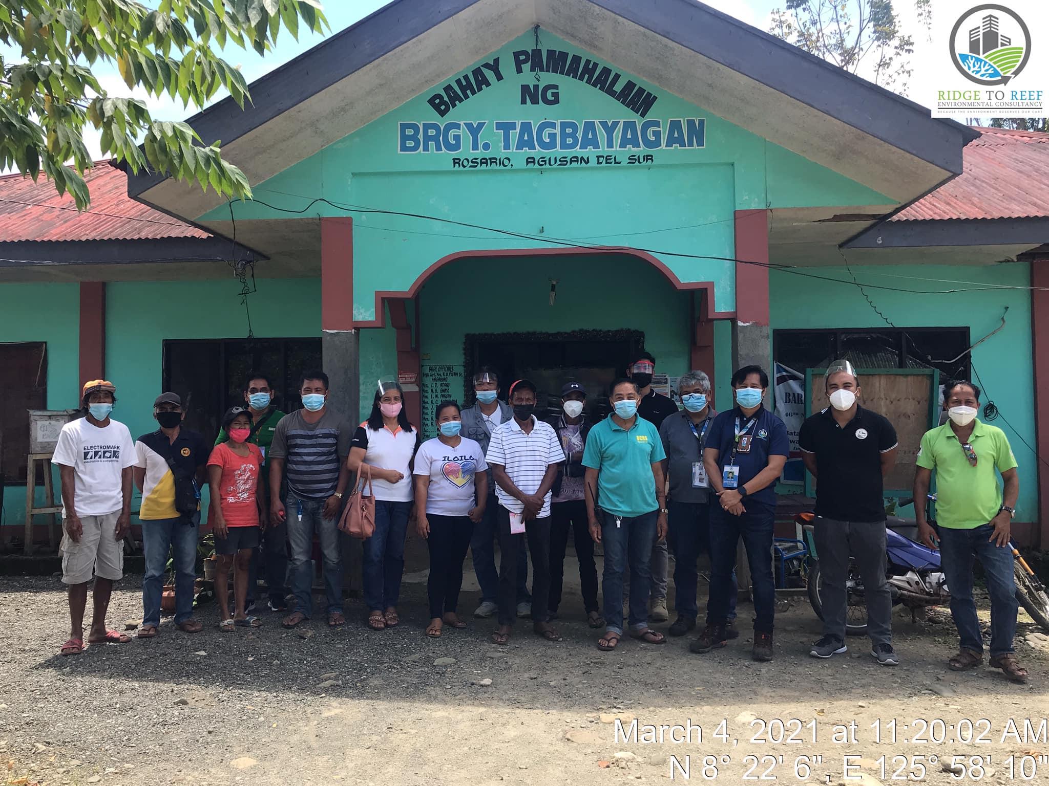 Focus Group Discussion (FGD) at Brgy. Tagbayagan, Rosario, Agusan del Sur